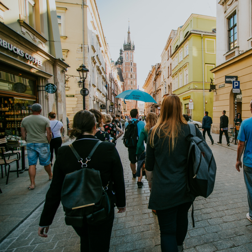 Cheap things to do in Krakow - Walking tour