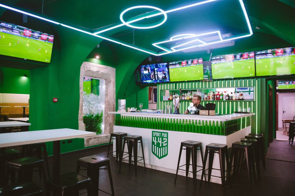 442 - Watch football in Krakow