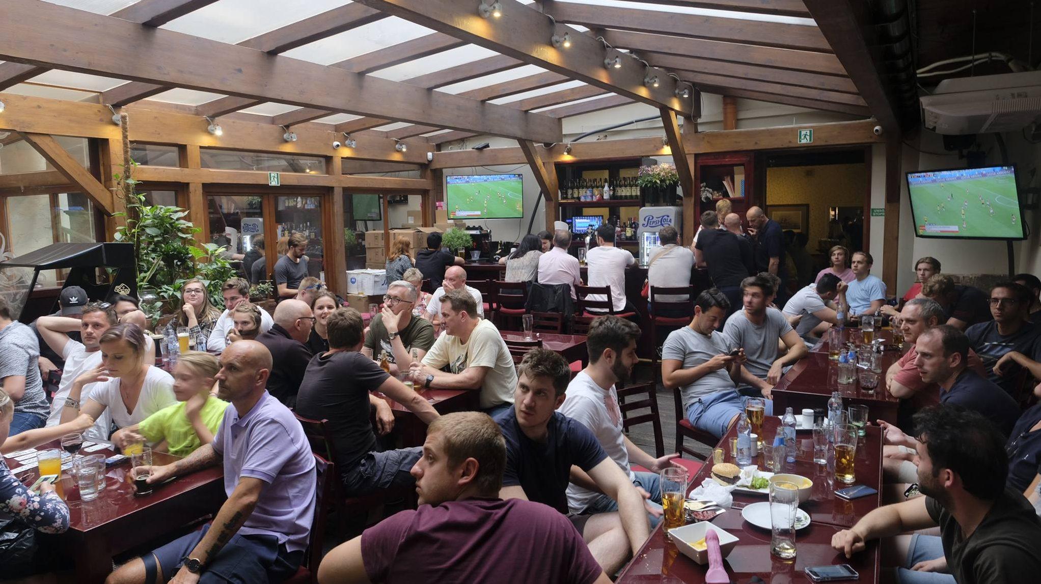 Watch football in Krakow Sports Bar